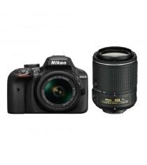 Nikon D3400 with 18-55mm and 55-300 VR Lenses Black Digital SLR Camera