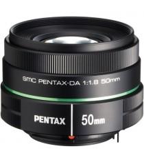 Pentax smc DA 50mm f/1.8 Black Lens