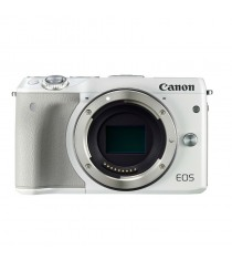 Canon EOS M3 Body White Digital SLR Camera (KIt Box)