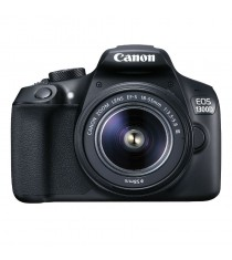 Canon EOS 1300D with EF-S 18-55mm DC III F3.5-5.6 Lens Black Digital SLR Camera