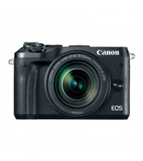 Canon EOS M6 Mirrorless with EF-M 18-150mm f/3.5-6.3 IS STM Lens Black