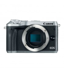 Canon EOS M6 Mirrorless Silver Digital Camera (Kit Box)