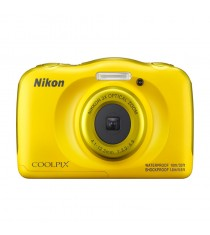 Nikon Coolpix W100 Yellow Digital Compact Camera