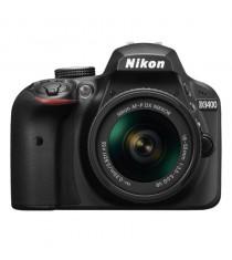 Nikon D3400 Black Digital SLR Camera with 18-55mm VR Lens