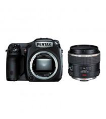 Pentax 645Z Kit with 55mm F2.8 Lens Black Digital SLR Camera