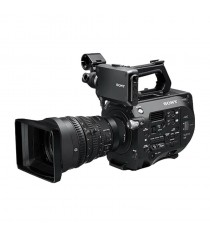 Sony PXW-FS7K 4K XDCAM Super 35mm with 28-135mm Lens Black Camcorder