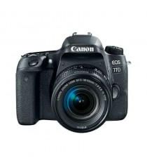 Canon EOS 77D Kit with 18-55mm f/3.5-5.6 IS STM Lens Black Digital SLR Camera