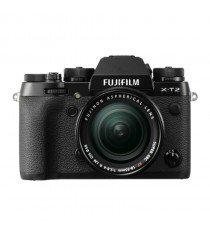 Fujifilm X-T2 with 18-55mm Black Mirrorless Digital Camera