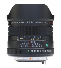Pentax FA31mm F1.8 AL Limited (Black) Lens