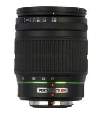 Pentax smc DA 17-70mm f4.0 AL IF SDM Black Lens