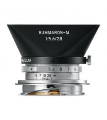 Leica Summaron-M 11695 28mm f/5.6 Silver Lens