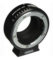 Metabones MB NFG-E-BM1 Nikon G Lens to Sony NEX Matte Black Camera Lens Mount Adapter