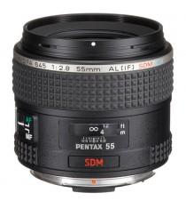 Pentax D FA 645 55mm f2.8 AL IF SDM AW Black Lens