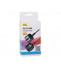 Pixel FC-314 Flashgun Cable for Olympus and Panasonic