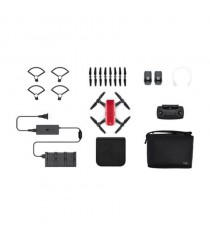 DJI Spark Fly More Combo Mini Quadcopter Drone (Lava Red)