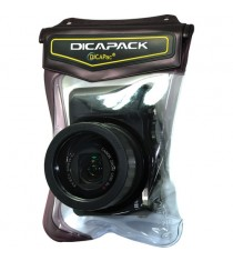 Dicapac WP-570 Prosumer Camera Waterproof Case (Brown)