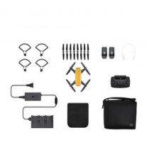 DJI Spark Fly More Combo Mini Quadcopter Drone (Sunrise Yellow)